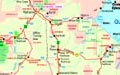 Katherine - Northern Territory - Australia - Travel - Holidays map