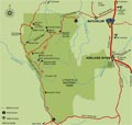 Litchfield National Park - Northern Territory - Australia map